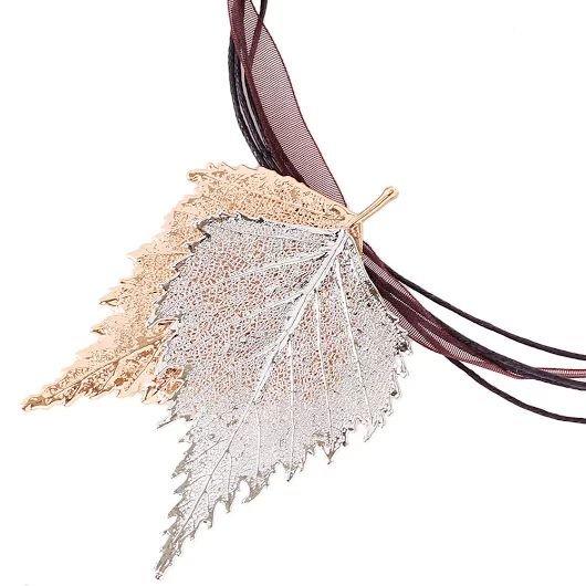 Мы любим показывать вам всякие интересности и Ester Bijoux - не исключение.     Эти итальянские украшения создаются вручную на натуральной основе. Настоящий листок проходит специальную обработку и затем покрывается драгоценным металлом в несколько микрон. Каждое украшение уникально, так как в природе нет двух абсолютно одинаковых листочков.  цена подвески на фото: 1780 грн