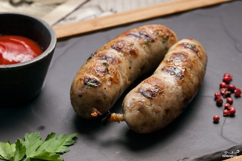 Домашняя колбаса из индейки рецепт с фото