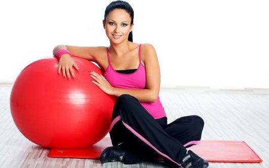 Домашние фитнес похудения женщине