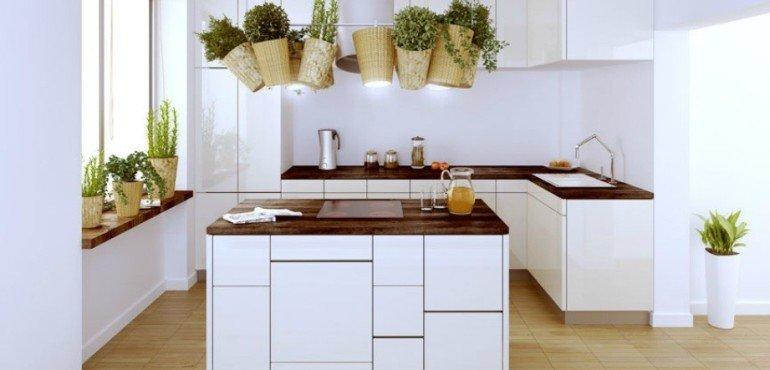 Функциональная и красивая кухня - эко кухня