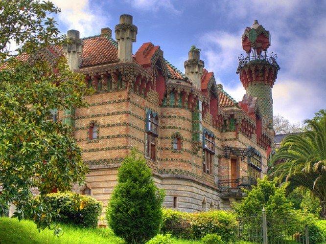Эль Каприччо: роскошный особняк с элементами восточного стиля