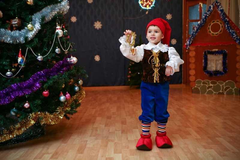 Гномики костюм новый год