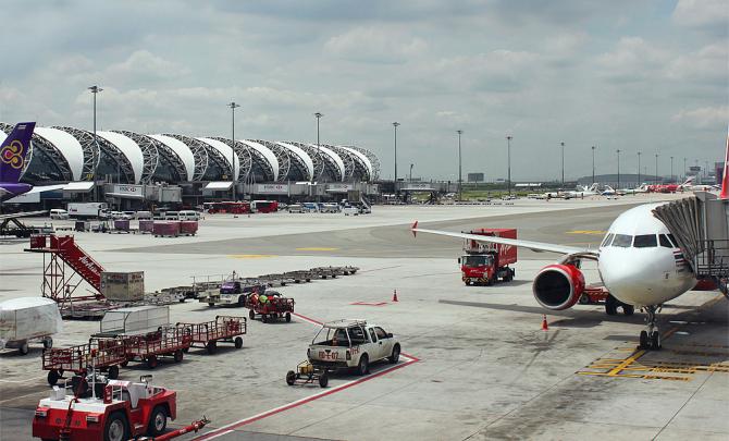 Суварнабхуми – новый крупнейший аэропорт Таиланда.