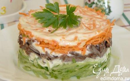 салаты рецепты с редькой фото