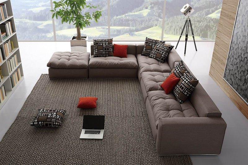 Модульные диваны для гостиной служат главным украшением комнаты. Поэтому важно выбрать качественный и красивый вариант данной мебели.