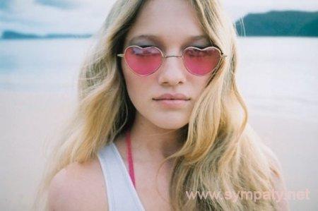 Очки с розовыми линзами в форме сердца» — карточка пользователя ... e5259fcfdc7