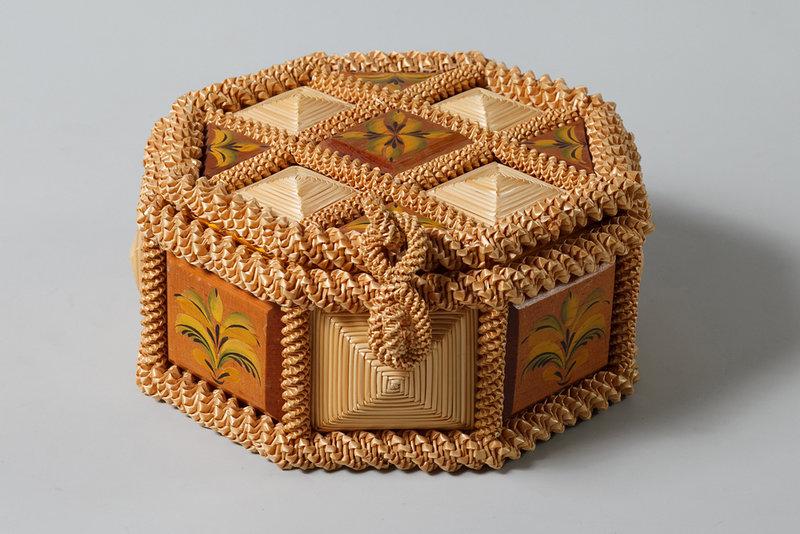Плетение из соломки.