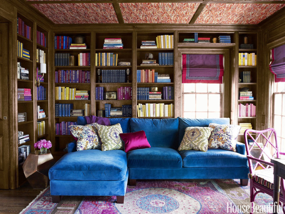 dream library in bedroom