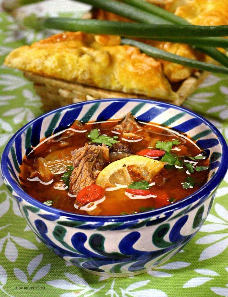 татарская кухня рецепты национальных блюд с фото