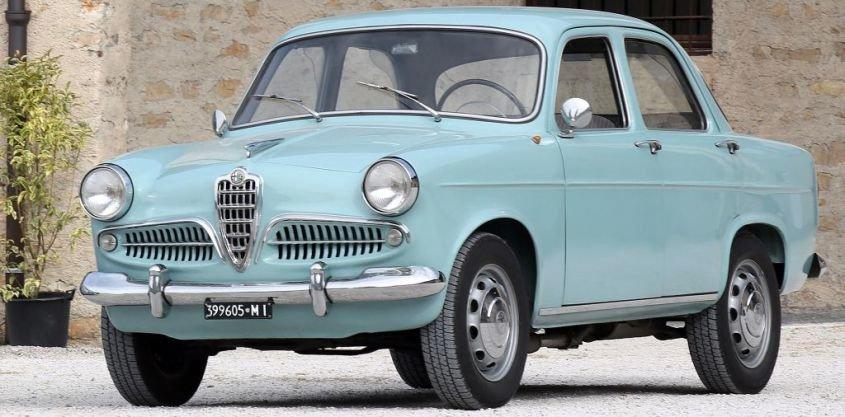 Alfa Romeo Giulietta Berlina 750 1955 Card From User Borodai