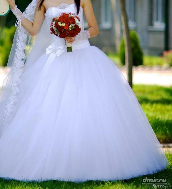 Свадебные платья самые пышные картинки