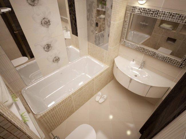 Дизайн ванной комнаты: фото интерьеров проектов ванных на ...