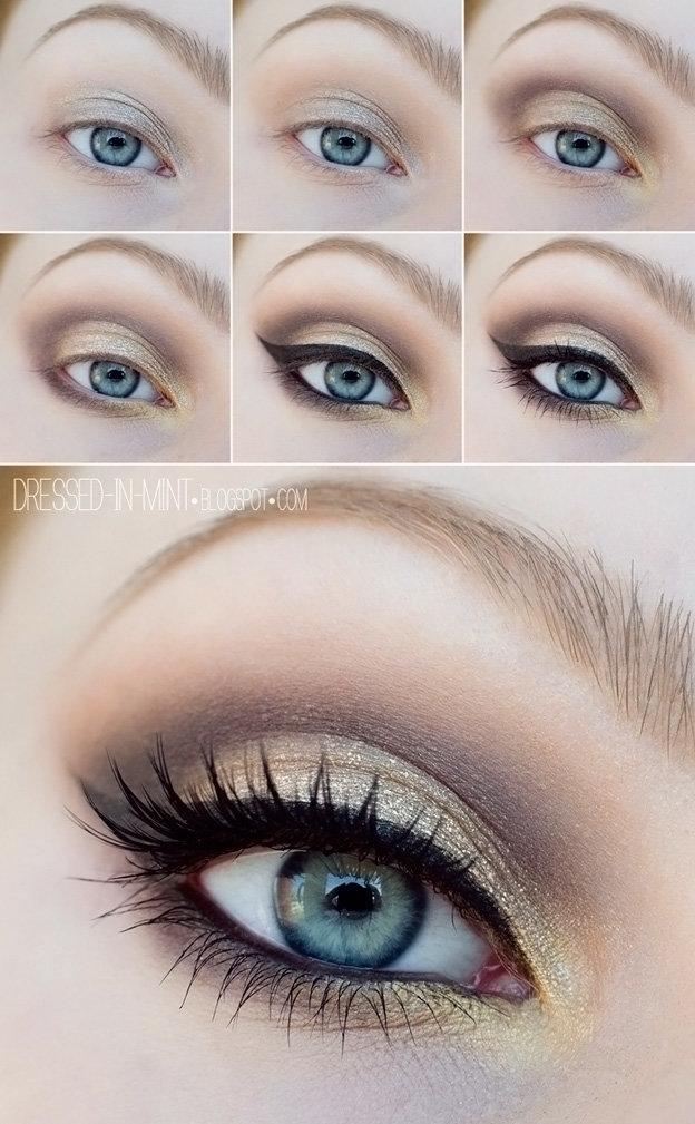 Красивый макияж в домашних условиях для глаз