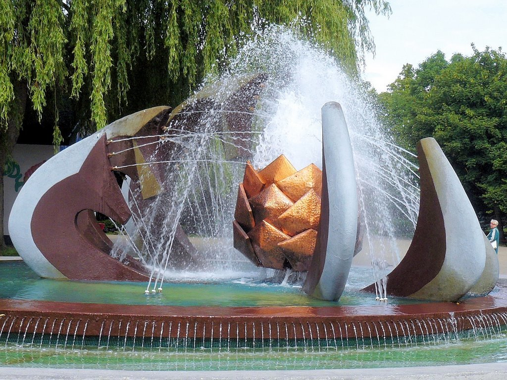 ознакомлю картинки необычных фонтанов последних