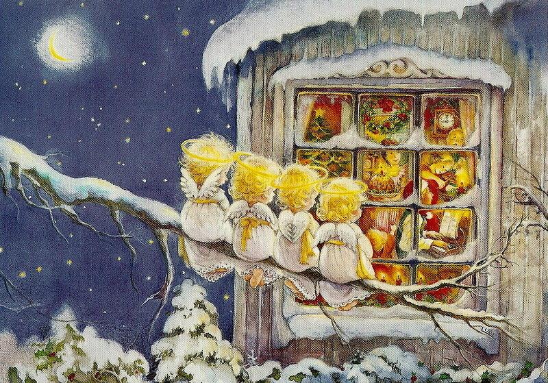 Открытки рождественское чудо