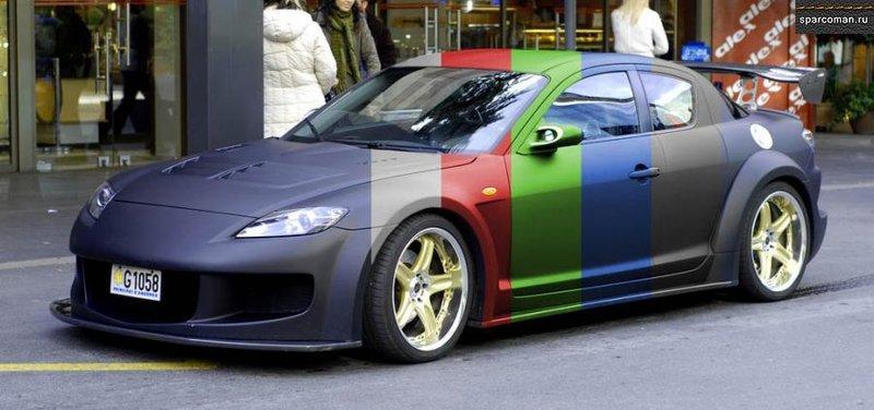 » 7 вариантов матовой покраски автомобиля :: Sparcoman.ru - автомобильный блог