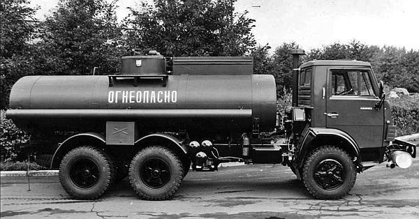 АЦ-9-5320 на шасси КамАЗ 5320