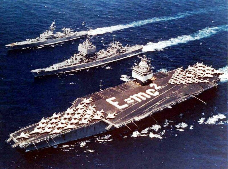 Авианосец класса «Энтерпрайз» USS Enterprise CVN-65