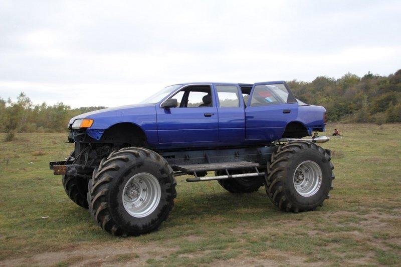 Бигфут на базе Ford Scorpio