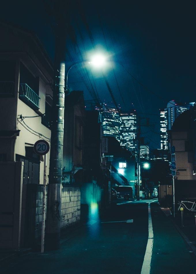 Чарующий ночной Токио в снимках Масаши Вакуи - Shazoo