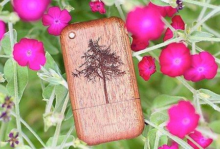 Деревянный чехол