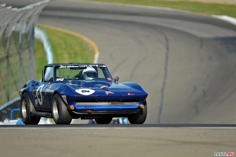 Электрический скат - Corvette C2 Sting Ray (24 фото)