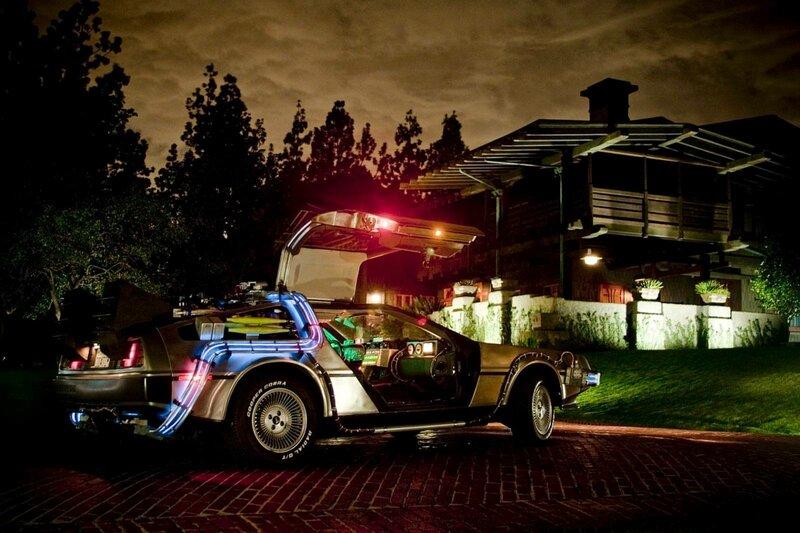 Фото Авто Delorean , назад в будущее