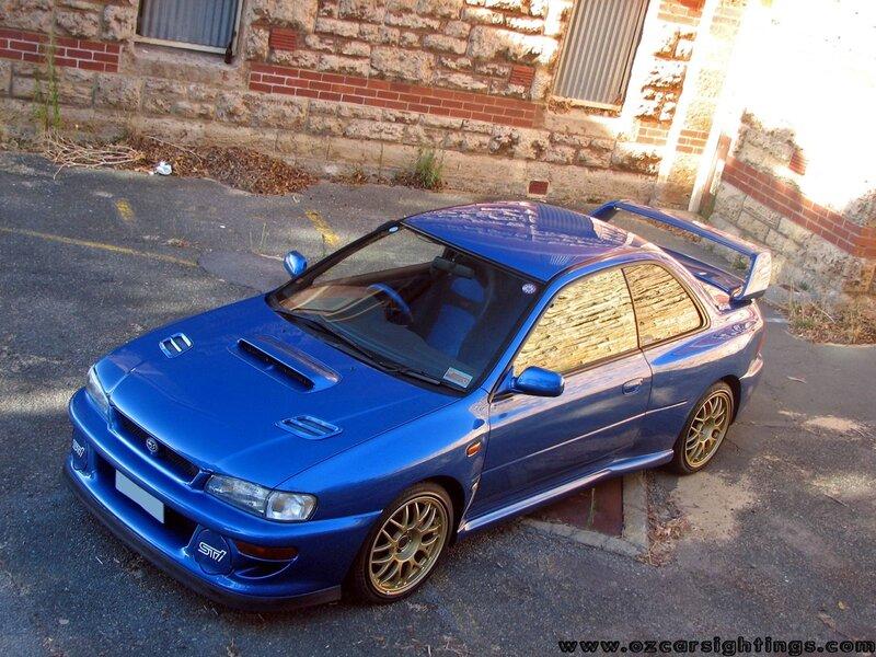 История поколения Subaru Impreza Turbo / личный блог Денис / smotra.ru