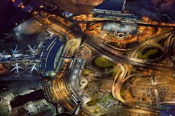 Jeffrey Milstein: Аэропорты с высоты птичьего полета
