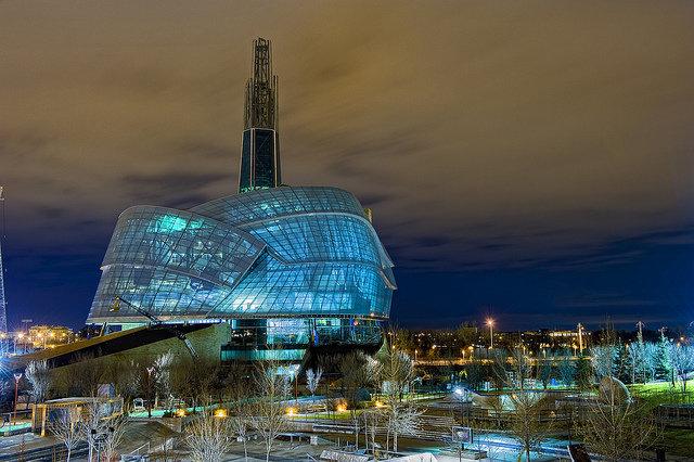 Канадский музей прав человека в Виннипеге