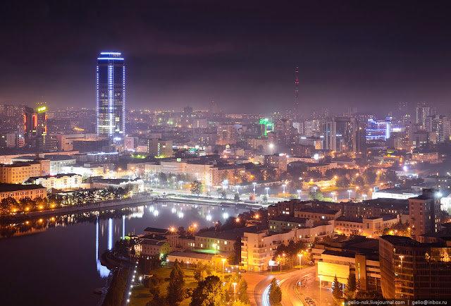 Красивые снимки ночных городов