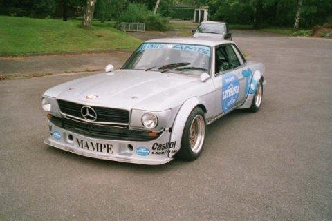 Mercedes-Benz 450 SLC AMG Racecar