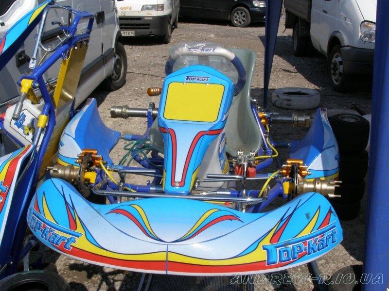Новое шасси Top-Kart