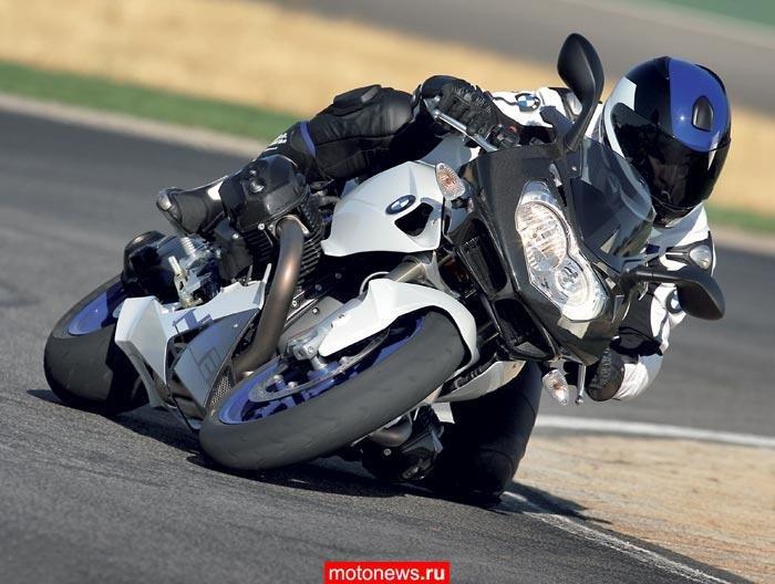 Новый спортбайк BMW HP2 2008 | Motonews.ru