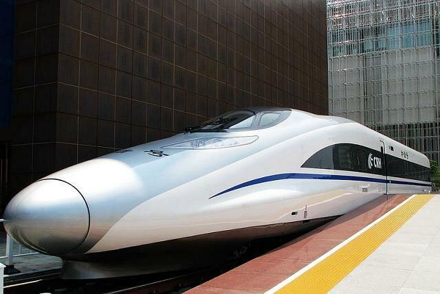 Поезд CRH380A из Китая