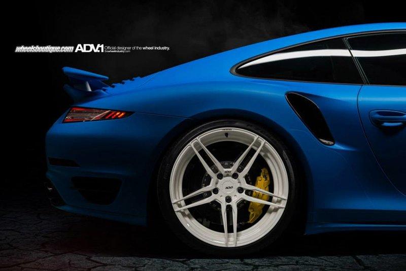 Porsche 911 Turbo S на дисках ADV.1