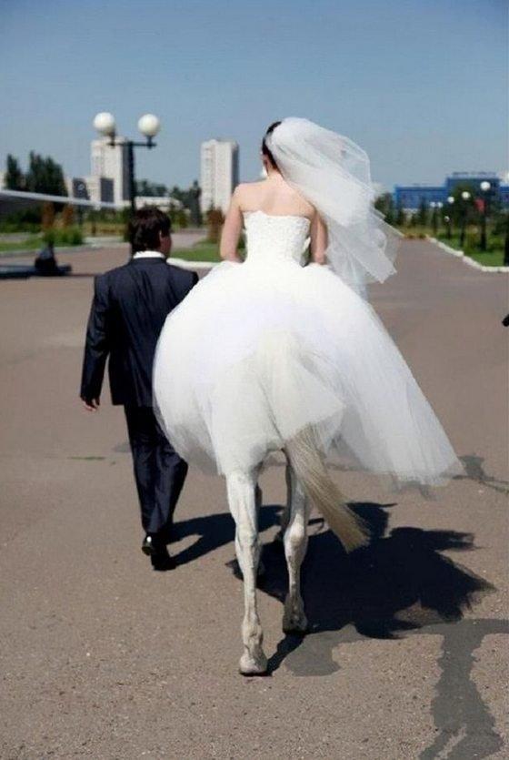 Приколы на свадьбе (55 фото)