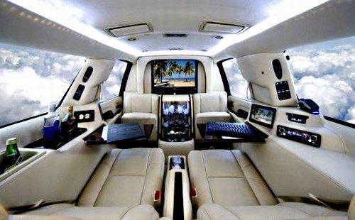Роскошные лимузины Mercedes