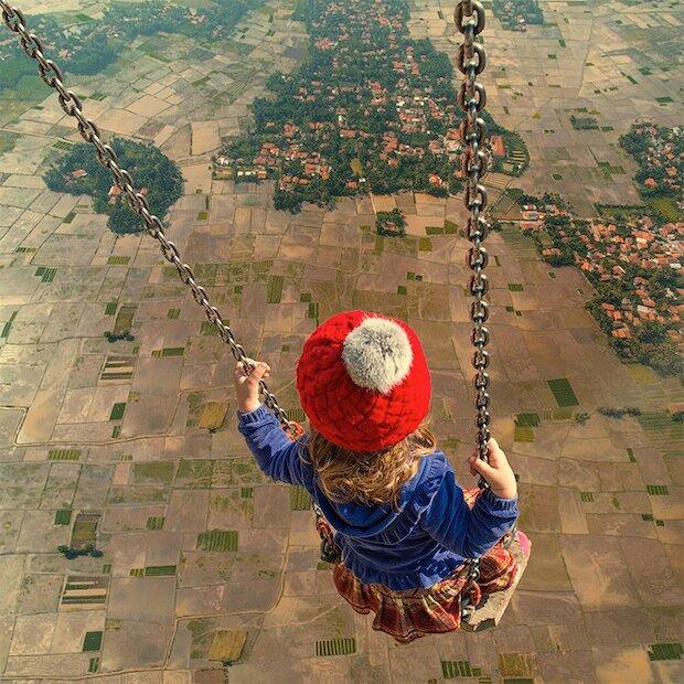 Сюрреалистический фотошоп от Караса Йонута