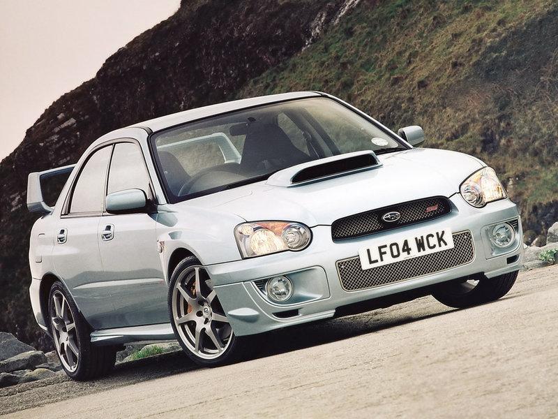 Subaru Impreza WRX STi WR1 (GDB) '2004–05