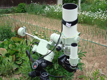 Телескоп-астрофотограф Takahashi FS-60CB на монтировке Takahashi Teegul Sky Patrol III - 1
