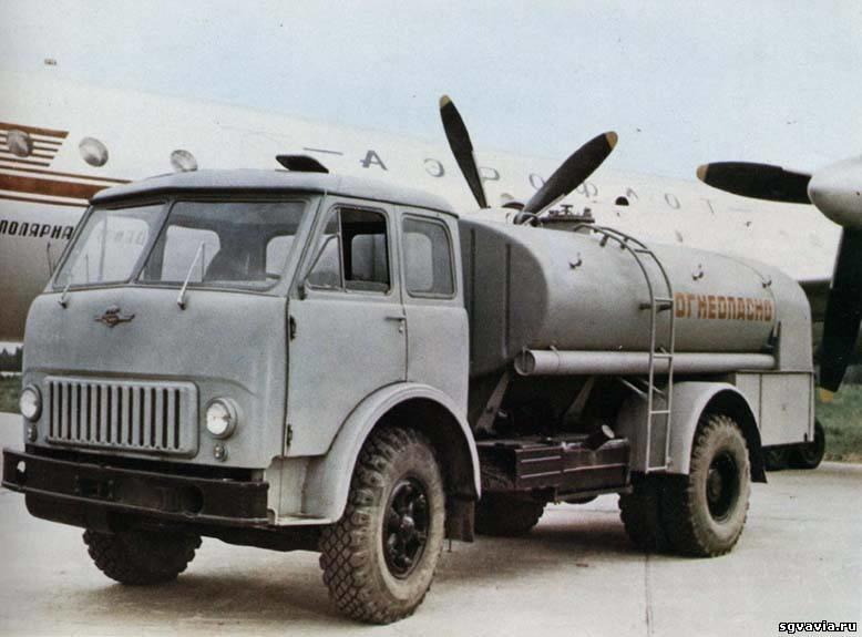 ТЗ-500 на базе МАЗ 500АШ
