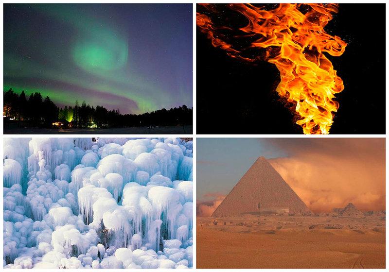 Удивительные природные явления и феномены