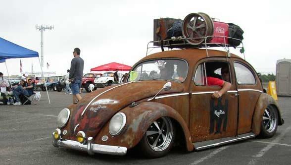 VW Beetle Rat Look