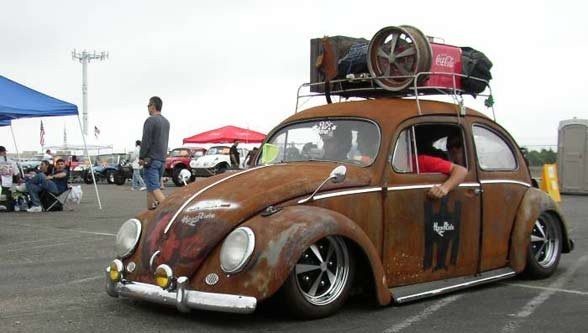 VW Beetle Rat Look