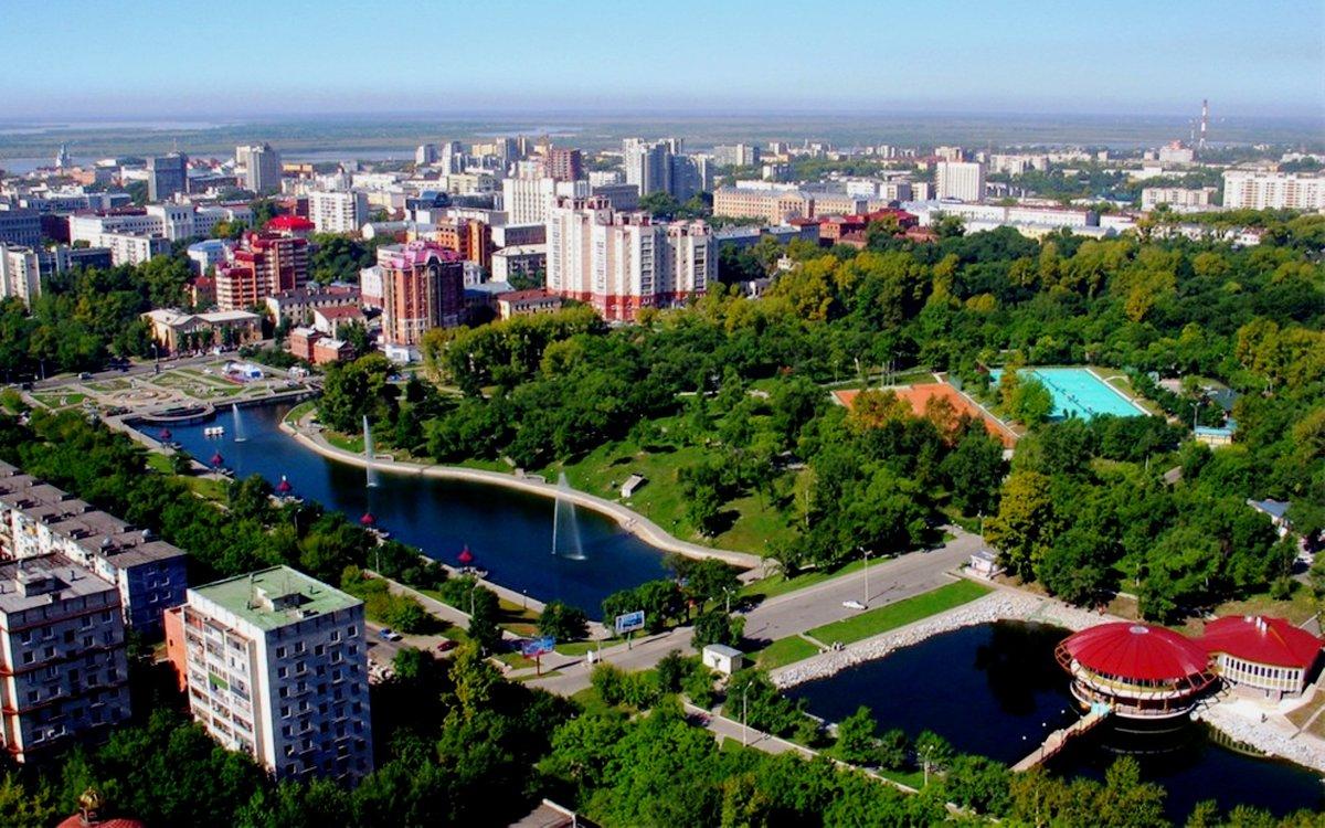 Осени открытках, картинки хабаровск