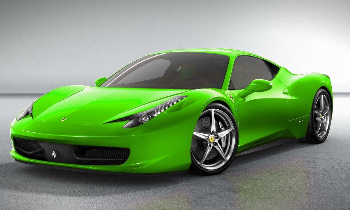 Машины зеленые и красные картинки