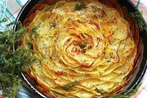 картошка на праздничный стол рецепты с фото