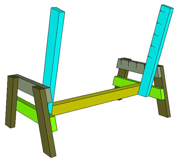 Простая скамейка: чертежи, размеры, фото. Как сделать простую скамейку своими руками, пошаговое изготовление скамейки с фото.