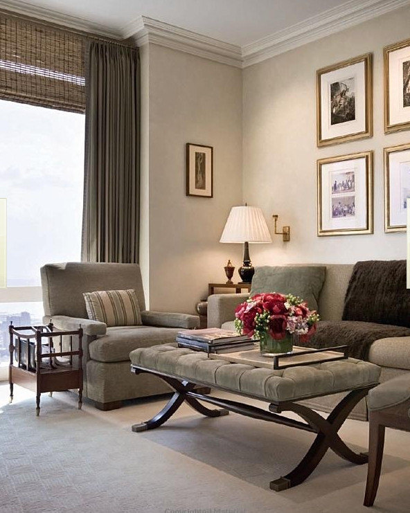 Американский дизайн... Современные и классические интерьеры от Alexa Hampton...